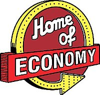 Home of Economy Logo