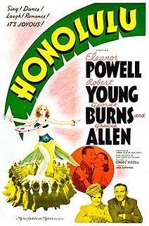 <i>Honolulu</i> (film) 1939 film by Edward Buzzell