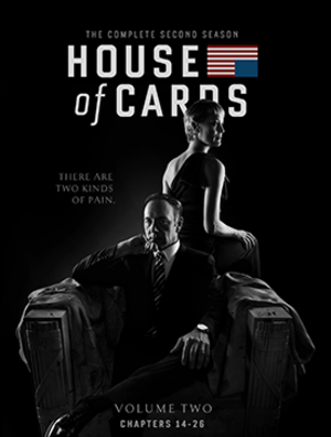 House of Cards (season 2) - Blu-ray cover