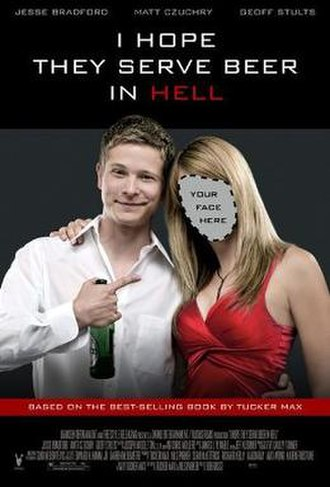 I Hope They Serve Beer in Hell (film) - Theatrical release poster