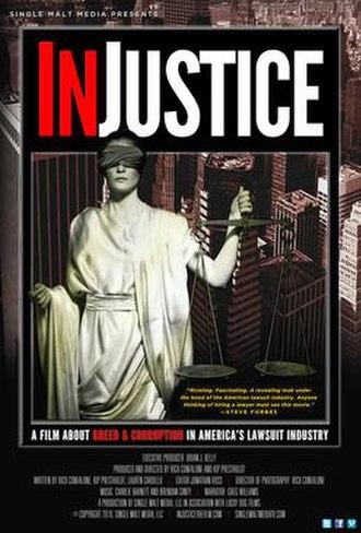 Injustice (film) - Image: In Jjustice(film)Poster