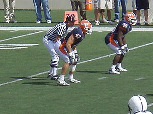 Jeremy Leman - Leman (47) during his tenure with the Fighting Illini