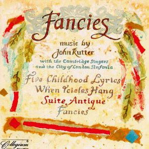 Fancies - Image: John Rutter Fancies CD cover