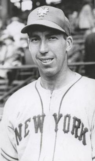 Johnny Gee - Gee with the New York Giants, c. 1945