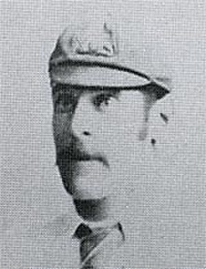 Kenneth Burn - Kenny Burn on the 1890 tour of England