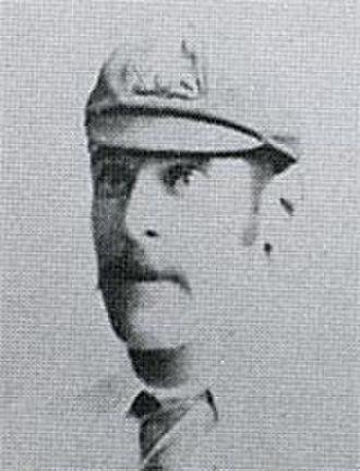 Kenneth Burn - Kenny Burn on the 1890 tour of England