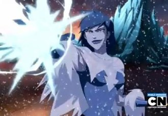 Killer Frost - Crystal Frost / Killer Frost in Young Justice.