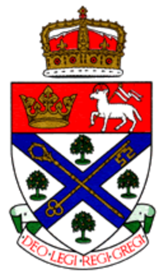 University of King's College - Image: Kings Coat of Arms