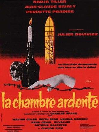 The Burning Court (film) - Image: La chambre ardente poster