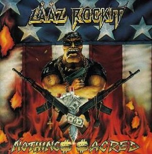 Nothing's Sacred (Lȧȧz Rockit album) - Image: Laaz nothing sacred