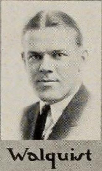 Laurie Walquist - Image: Lawrence Walquist, c. 1922