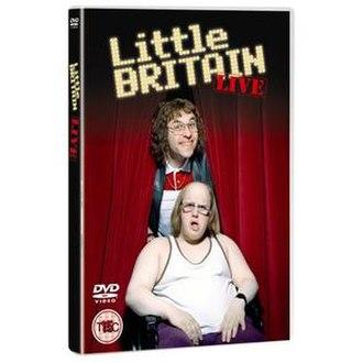 Little Britain Live - Image: Lblivecover