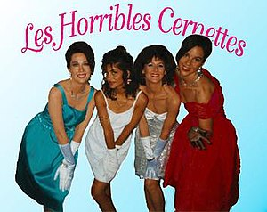 Les Horribles Cernettes - Image: Les Horribles Cernettes in 1992