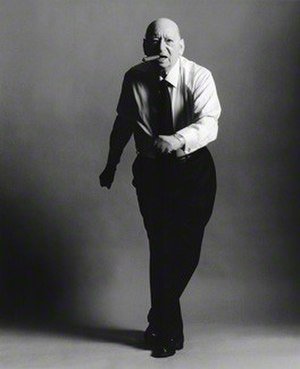 Lew Grade - 1997 artistic portrait by the Earl of Snowdon.