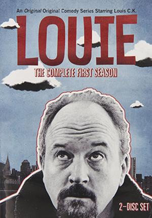 Louie (season 1) - DVD cover