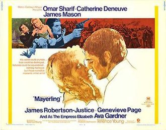 Mayerling (1968 film) - Theatrical release poster by Tom Jung