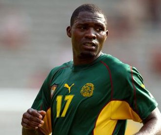 Marc-Vivien Foé - Foé playing for Cameroon in 2003