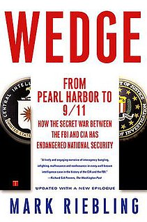 <i>Wedge: The Secret War Between the FBI and CIA</i>