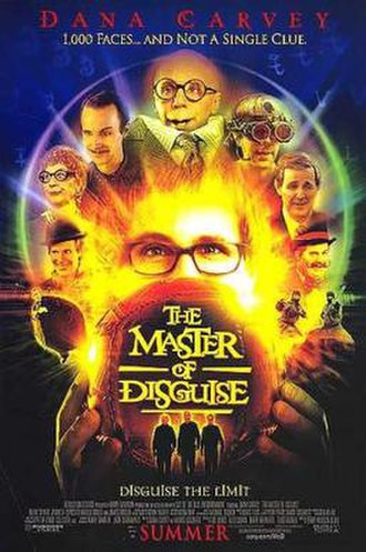 The Master of Disguise - Theatrical release poster