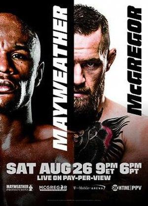 Floyd Mayweather Jr. vs. Conor McGregor - Image: Mayweather Mc Gregor