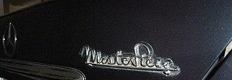 Mercedes-Benz W124 - Mercedes-Benz W124 Masterpiece rear label