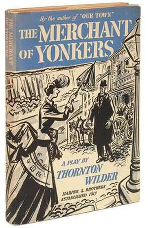 The Merchant of Yonkers - First edition (publ . Harper and Brothers)