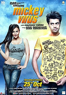 Mickey Virus Official Poster 2013.jpg