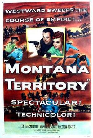 Montana Territory (film) - Image: Montana Territory Film Poster