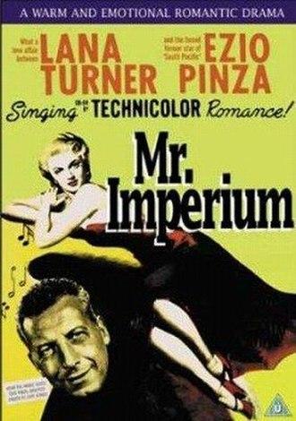 Mr. Imperium - Image: Mr imperium dvd cover