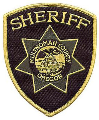 Multnomah County Sheriff's Office - Image: Multnomah County, OR Sheriff NS