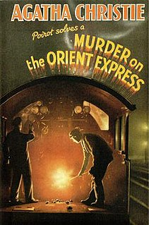 <i>Murder on the Orient Express</i> Novel by Agatha Christie