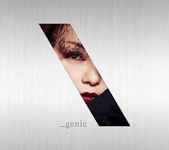 Genic - Image: Namie Geniccddvd
