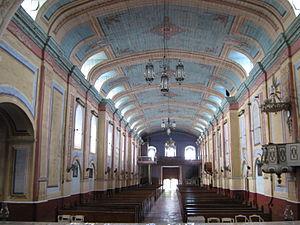 Tayabas Basilica - Image: Nave from altar