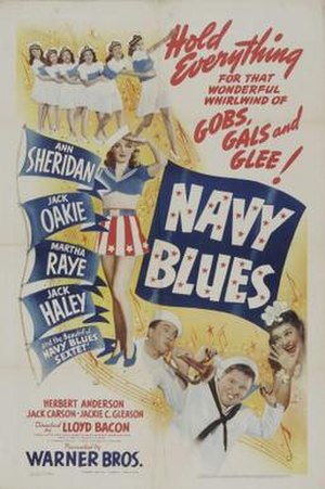 Navy Blues (1941 film) - Theatrical release poster