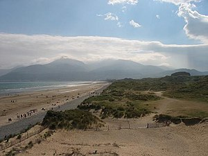 Newcastle, County Down - Sandy beach and Dunes, 2 miles north from Newcastle.