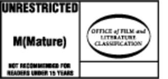 Australian Classification Board - Unrestricted M (Mature)