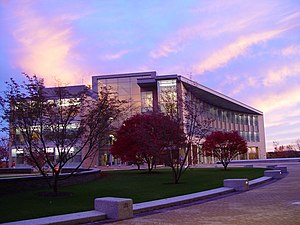Franklin W. Olin College of Engineering - Sunset over Milas Hall