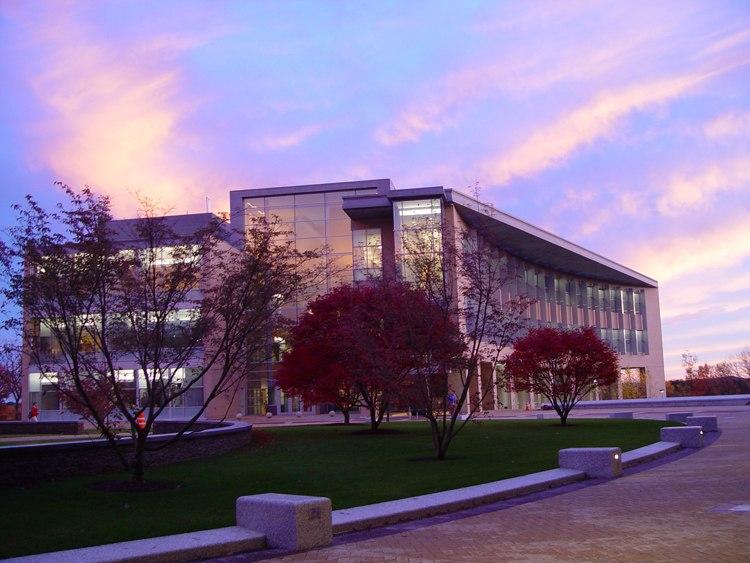 Olin Center Sunset