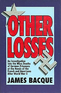 <i>Other Losses</i> book by James Bacque