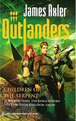 Outlanders - The core characters of the Outlanders series: Brigid Baptiste, Kane and Grant. Cover by Cliff Nielsen