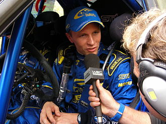 Petter Solberg - Solberg interviewed during the 2006 Rally Australia.