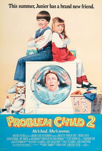 Problem Child 2 - Theatrical release poster
