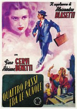 Four Steps in the Clouds - Theatrical release poster