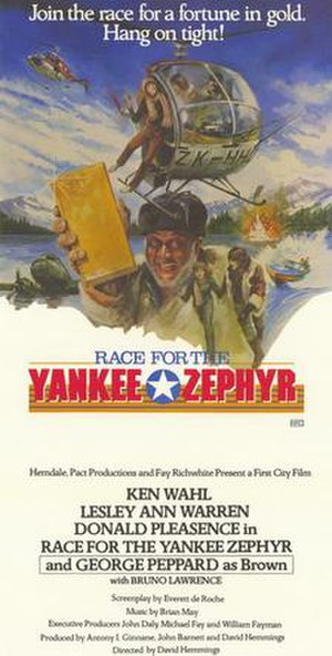 Race for the Yankee Zephyr - Theatrical film poster