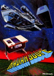 <i>Radar Scope</i> 1980 shooter arcade game