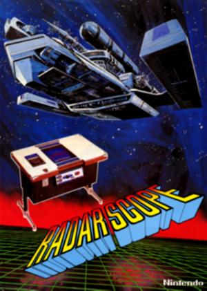 Radar Scope - Arcade flyer of Radar Scope.