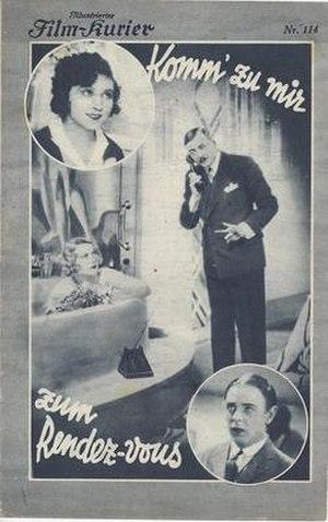Rendezvous (1930 film) - Image: Rendezvous (1930 film)