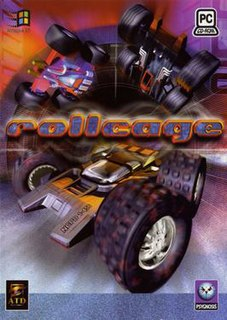 <i>Rollcage</i> (video game)