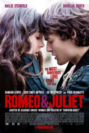 Romeo & Juliet (2013 film) - US theatrical poster