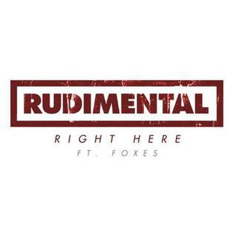Rudimental featuring Foxes — Right Here (studio acapella)